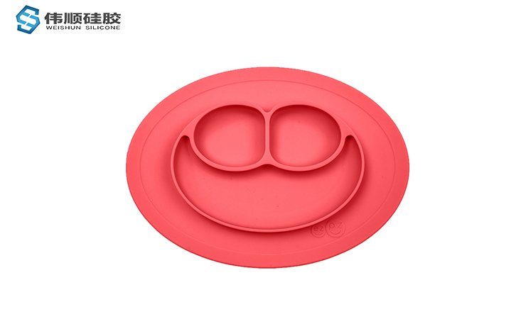 硅胶广告促销礼品--儿童餐盘