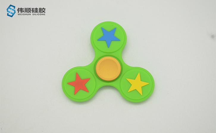 固态硅胶产品-指尖陀螺