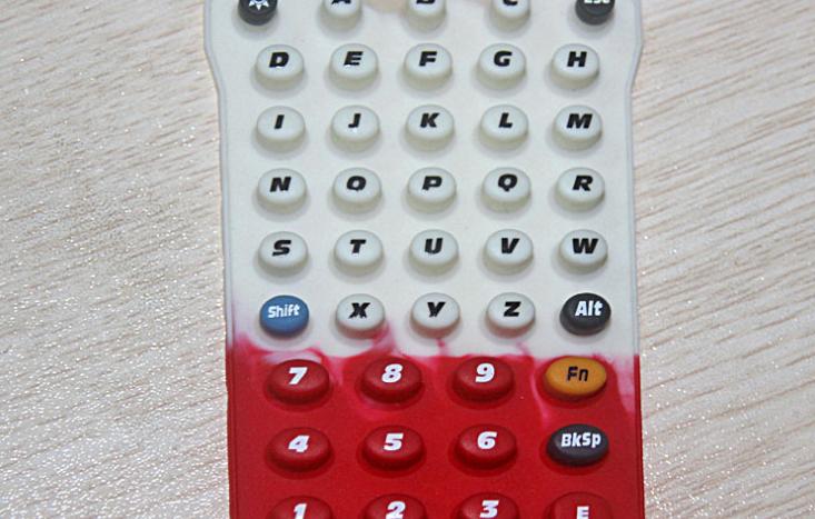 多色硅胶按键串色问题如何解决