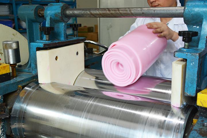 硅胶生产工艺