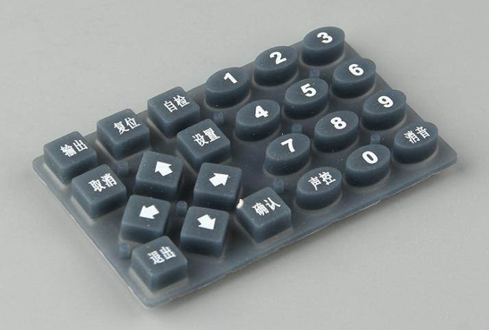 优惠的单点硅胶按键