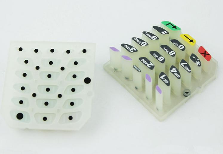 导电胶按键和非导电硅胶按键的区别,怎样辨别导电硅胶按键