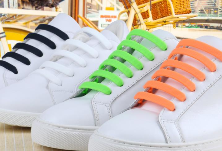 创意懒人鞋带,神奇硅胶鞋带,一脚蹬鞋带