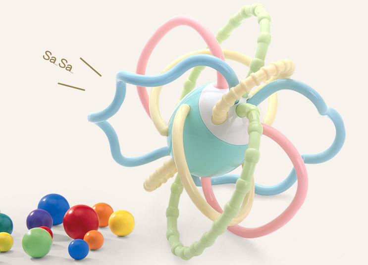 硅胶玩具有哪些--旋转手抓球