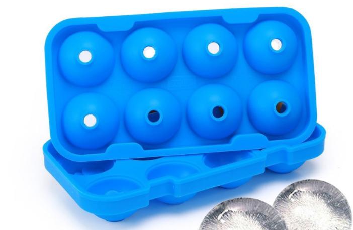 硅胶8格冰球定制