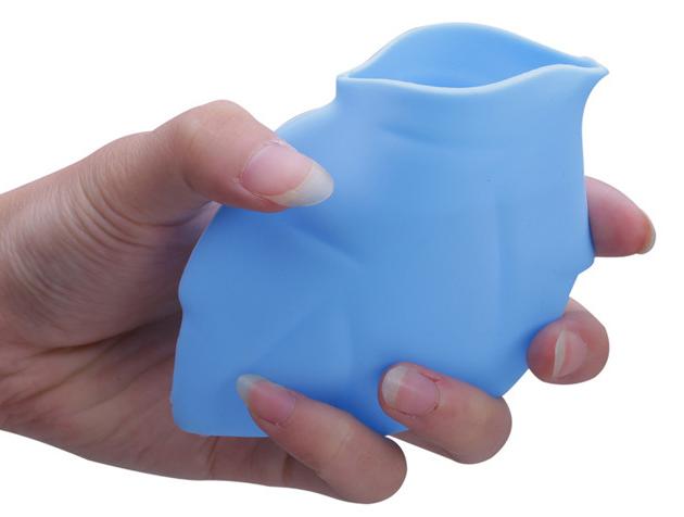 硅胶折叠树叶口杯定制