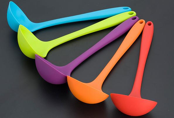 厨房用硅胶勺子-厨房硅胶勺子定制厂家-东莞厨房硅胶勺子工厂电话