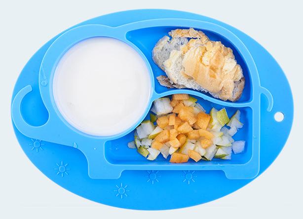 硅胶分隔餐盘定制