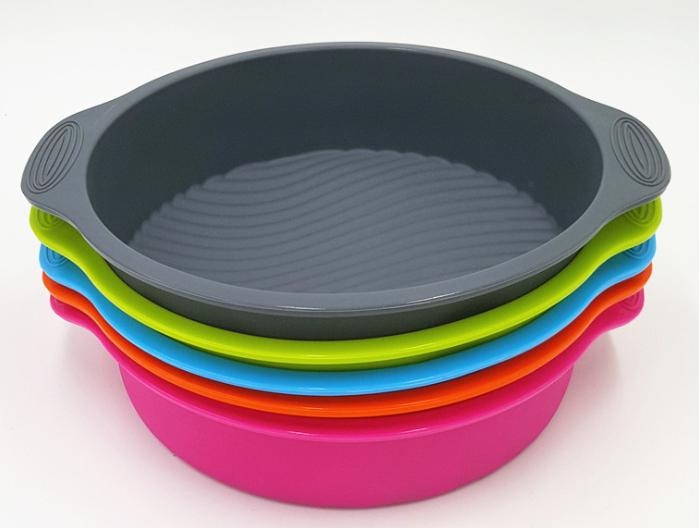 硅胶圆形蛋糕模具定制