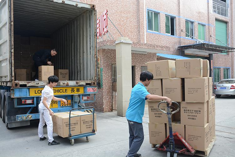 日本订单,整柜出货,硅胶出口,外贸订单