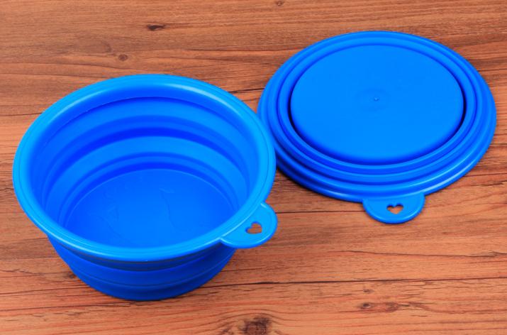 东莞硅胶宠物折叠碗定制工厂
