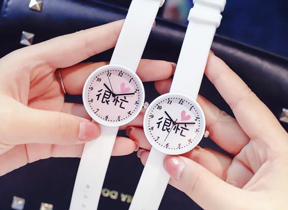 硅胶儿童手表定制