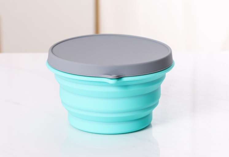 婴儿硅胶碗有毒吗,宝宝硅胶折叠碗安全吗