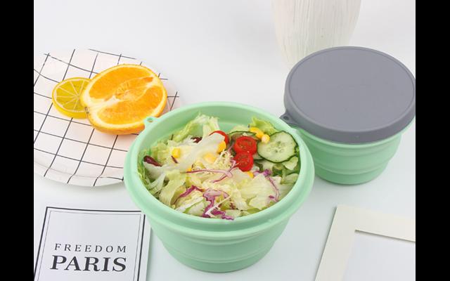 户外折叠硅胶碗好用吗-旅行用硅胶折叠碗安全吗