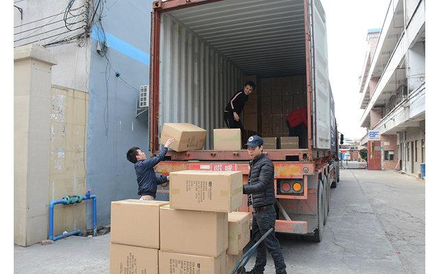 2019年出的第一个货柜,美国客户订单