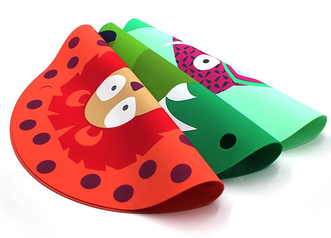 硅胶卡通餐垫定制-定做硅胶卡通餐垫厂家-东莞硅胶卡通餐垫定制工厂