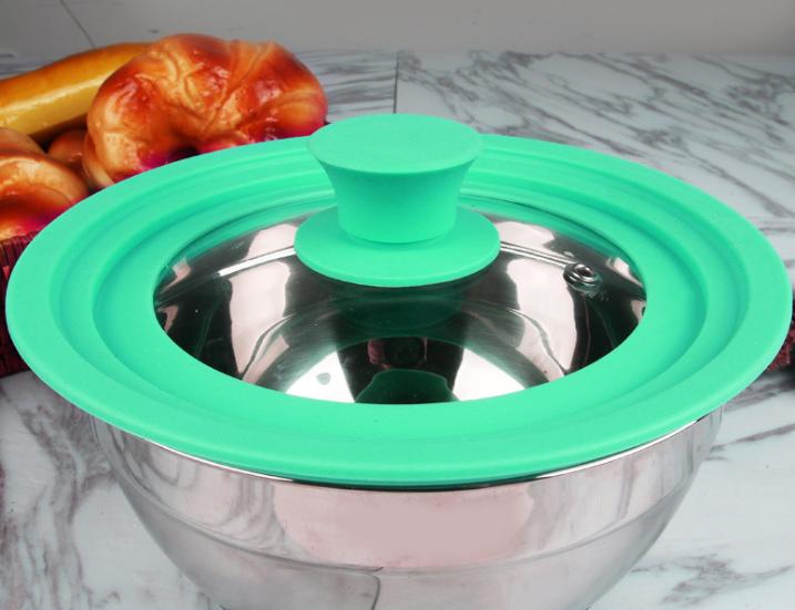 硅胶玻璃锅盖定制,定做硅胶玻璃锅盖厂家,东莞硅胶玻璃锅盖工厂