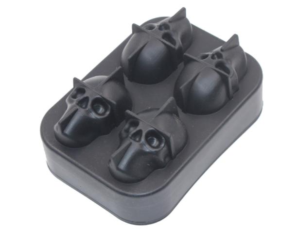 硅胶骷髅头冰格定制,定做硅胶骷髅头冰格工厂,东莞硅胶骷髅头冰格定制工厂