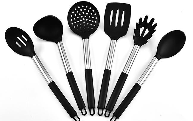 硅胶厨具6件套定制-定做硅胶厨具6件套厂家-东莞硅胶厨具六件套定制工厂