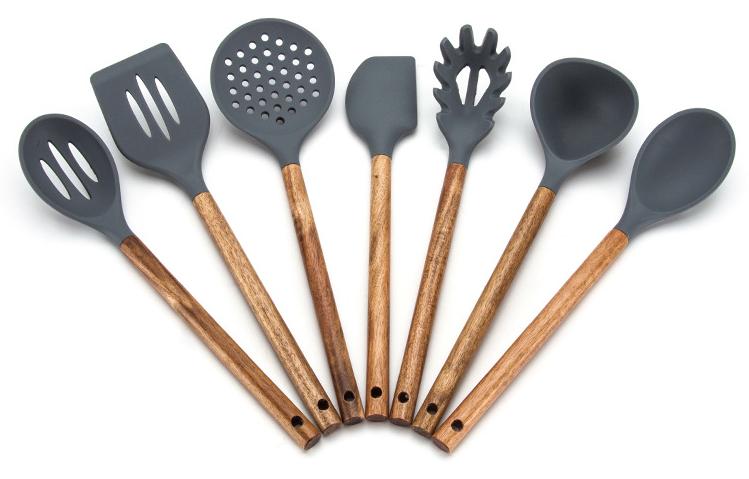 硅胶厨具7件套定制-定做硅胶厨具7件套厂家-东莞硅胶厨具七件套定制工厂