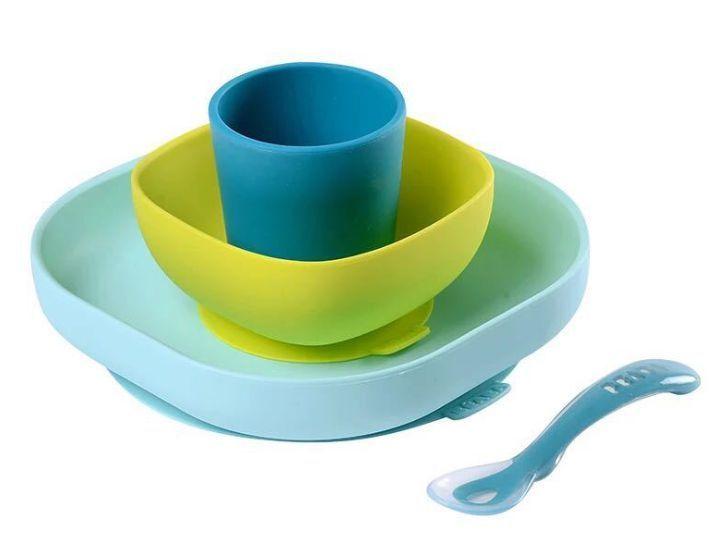 儿童硅胶吸盘碗好用吗,宝宝硅胶防摔吸盘碗安全吗
