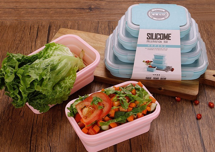 可折叠硅胶便当盒,折叠伸缩硅胶饭盒的优势有哪些