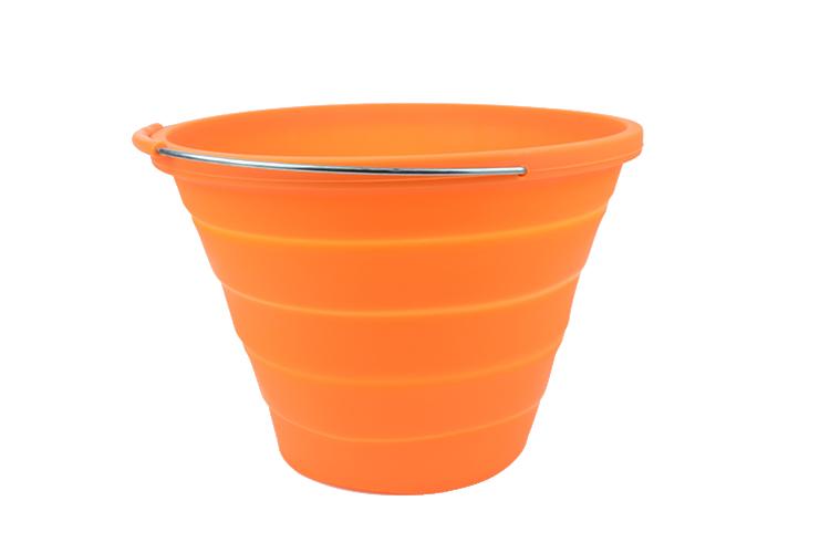 硅胶折叠水桶