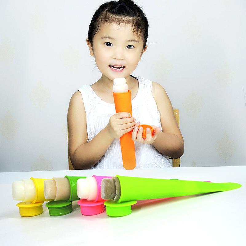 硅胶冰棒模,食品级雪糕模具,diy冰棒模