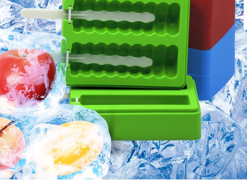 硅胶雪糕浙江11选五基本走势图模具,冰棒模,冰淇淋模