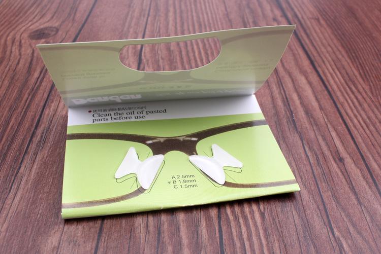 硅胶眼镜鼻垫,增高鼻托,板材眼镜鼻垫