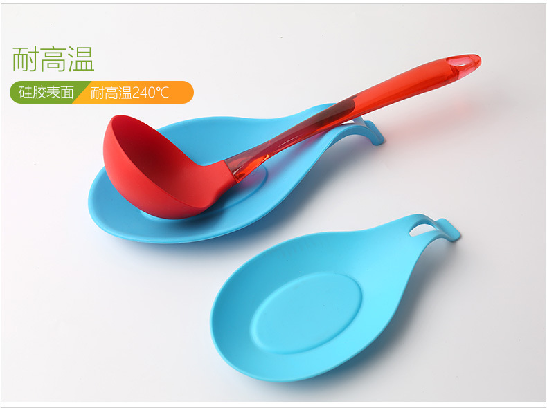 硅胶勺子垫,硅胶搁勺器,硅胶勺托
