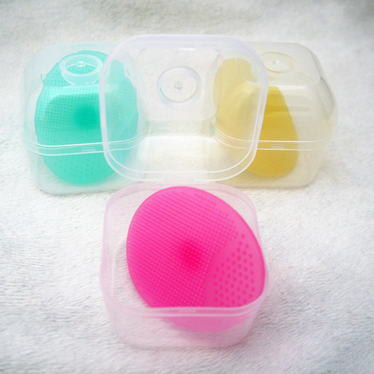 硅胶婴儿洗头刷