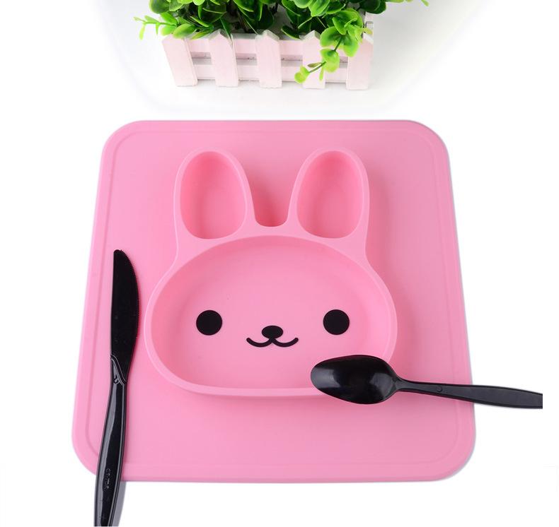 兔子儿童餐盘