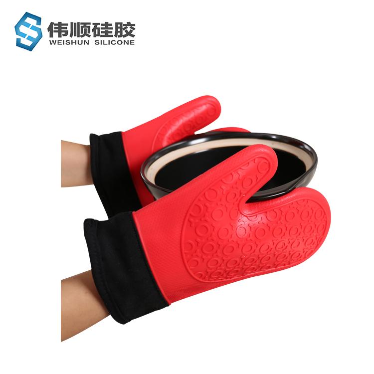 防烫硅胶手套