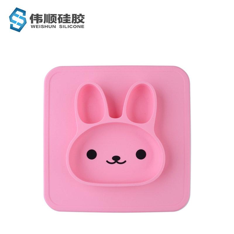 萌兔萌兔餐盘