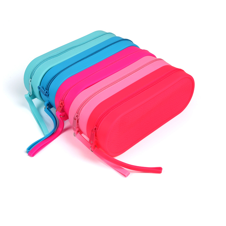硅胶文具包,硅胶铅笔包,学生文具包