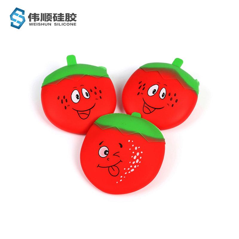 硅胶草莓包