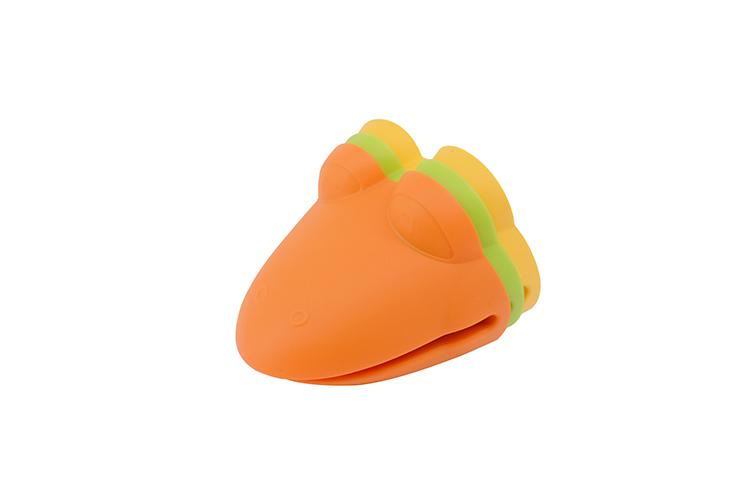 公鸡头硅胶防烫手夹,公鸡防烫手套,烘焙手套