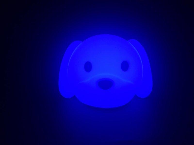 硅胶小狗拍拍灯,硅胶led喂奶灯,usb充电小夜灯