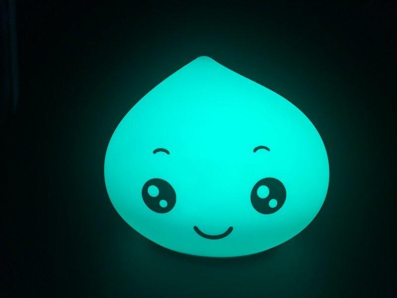 硅胶水滴拍拍灯,硅胶床头灯,led卧室灯