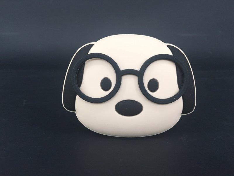 硅胶博士狗零钱包,狗狗零钱包,卡通小狗钥匙包