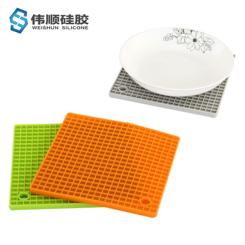 硅胶方格餐垫