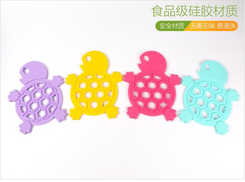 乌龟硅胶隔热垫,乌龟硅胶餐垫,乌龟硅胶碗垫