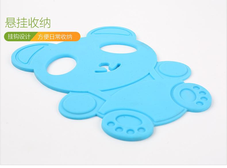 熊猫硅胶隔热垫,熊猫硅胶餐垫,熊猫硅胶碗垫