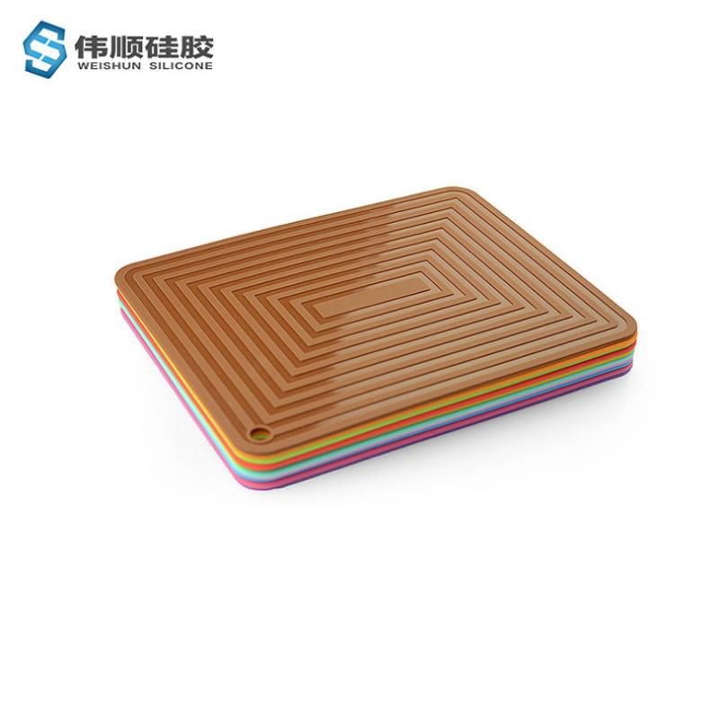 回纹硅胶隔热垫
