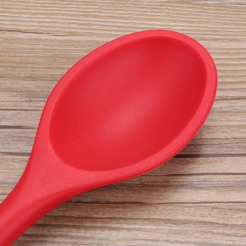 硅胶小勺子,硅胶调羹,硅胶汤匙,硅胶密更