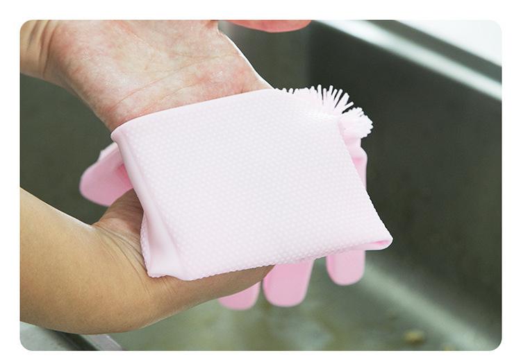 硅胶洗碗手套,硅胶家务手套,硅胶魔术多功能手套