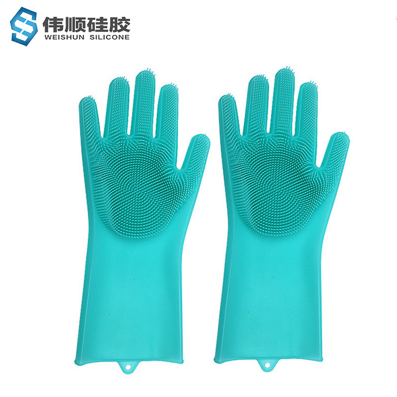 硅胶洗碗手套