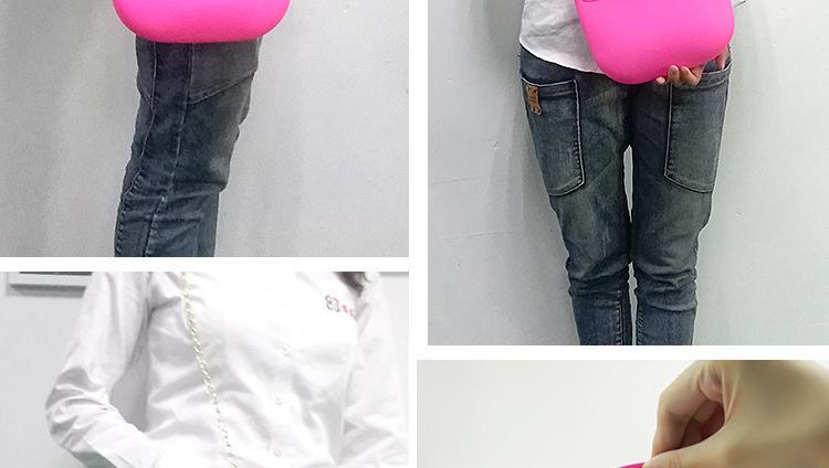 硅胶蝴蝶结单肩包,硅胶单肩包