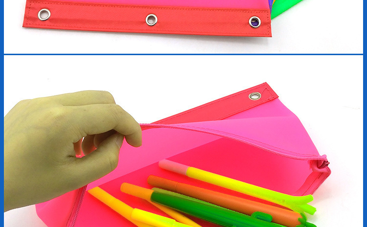 硅胶文件袋,硅胶笔袋,硅胶A5资料袋